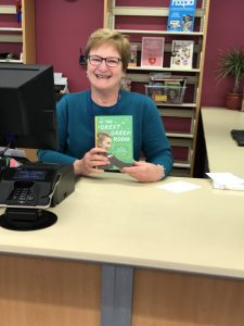 Barbara with book