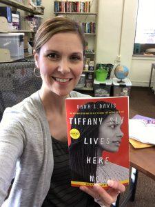 Jenn with book