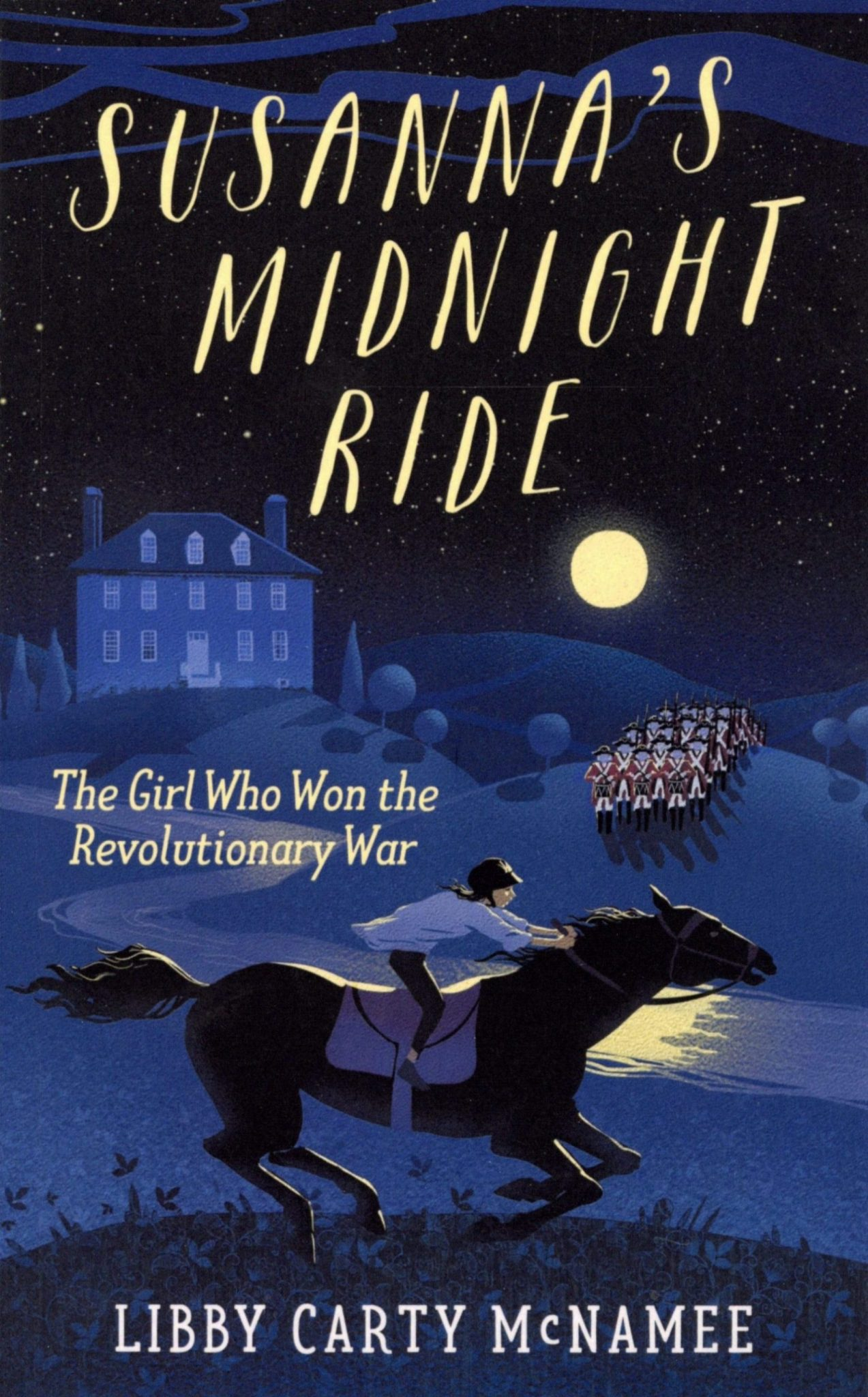 Susanna's Midnight Ride cover