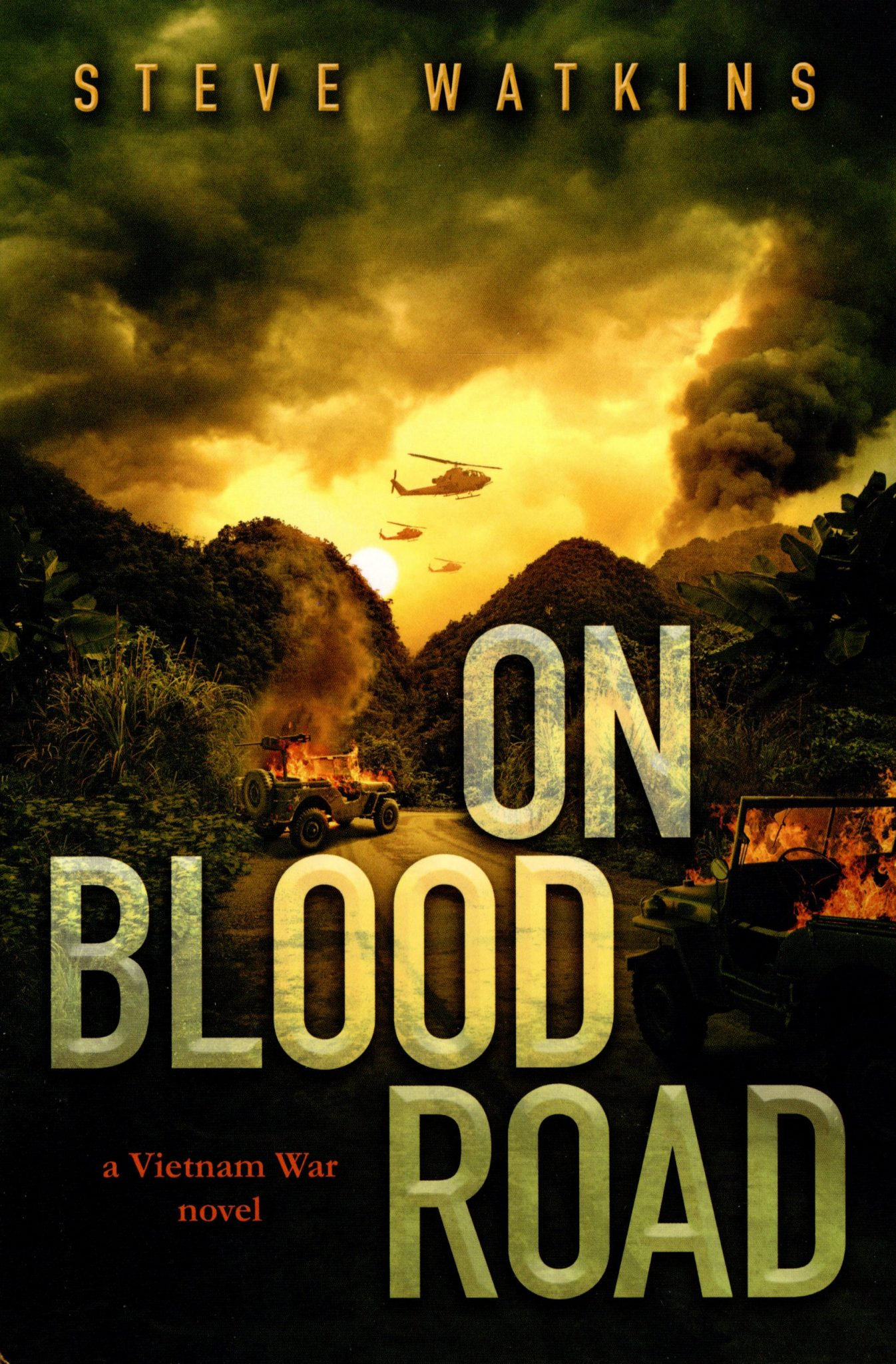 On Blood Road cover