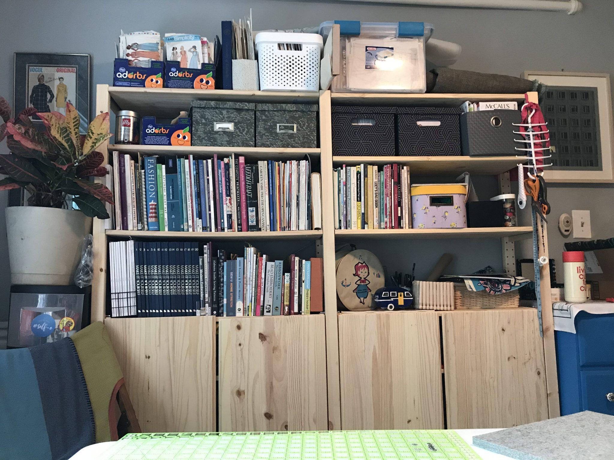 Home Studio Bookshelf