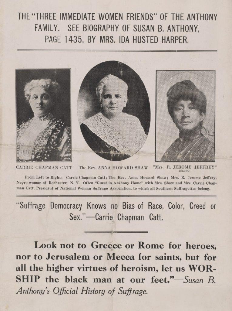 Text Box: Carrie Chapman Catt addresses the General Assembly, Richmond EVENING JOURNAL, January 21, 1920.