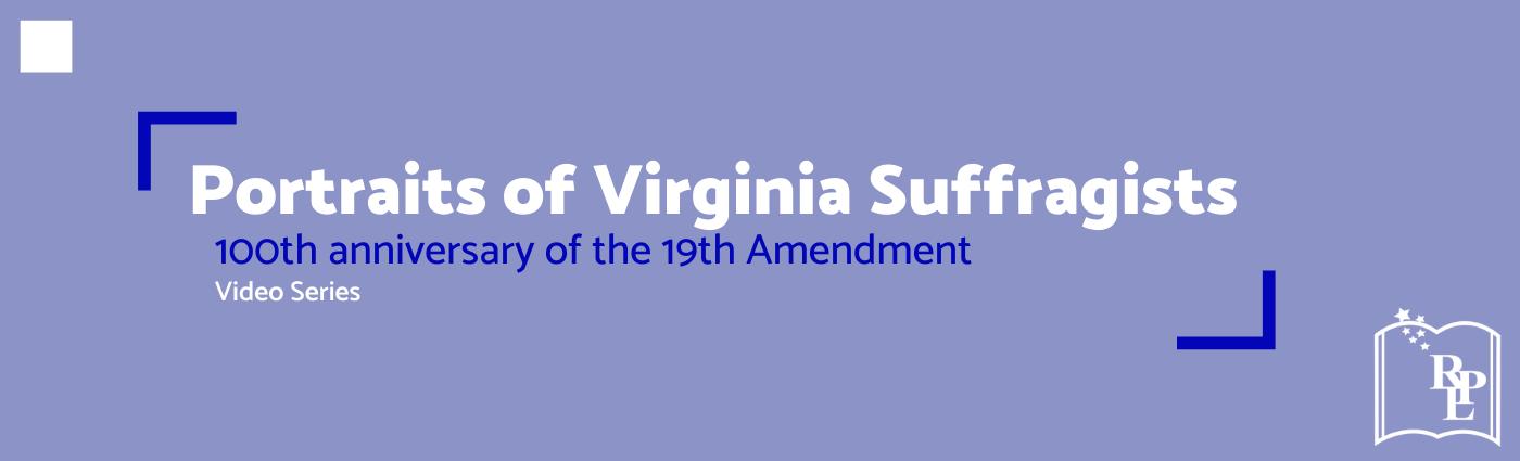 Portrait Of Va Suffragists